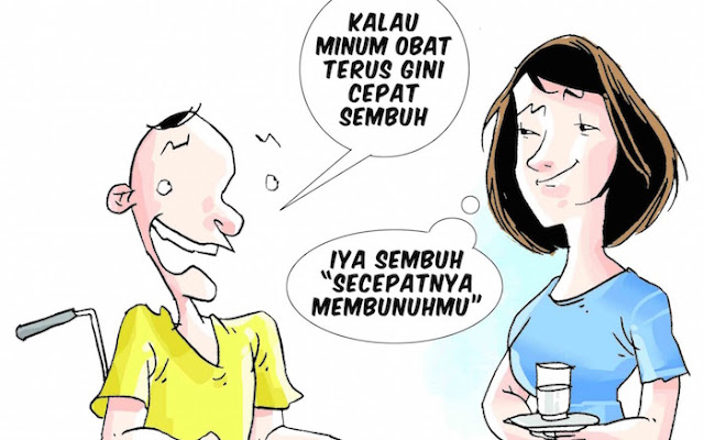 Suami Dicekoki Obat Diabates, Istri Melayani Pria Lain