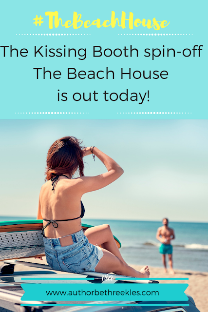 It's publication day! My companion novella to The Kissing Booth, The Beach House, is out today!