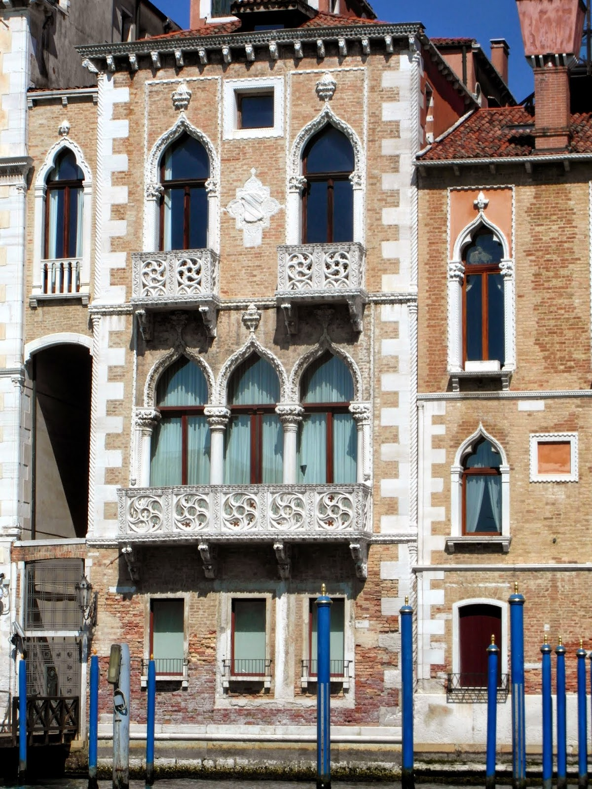 The Palazzo Contarini-Fasan, aka the Palace of Desdemona, Venice