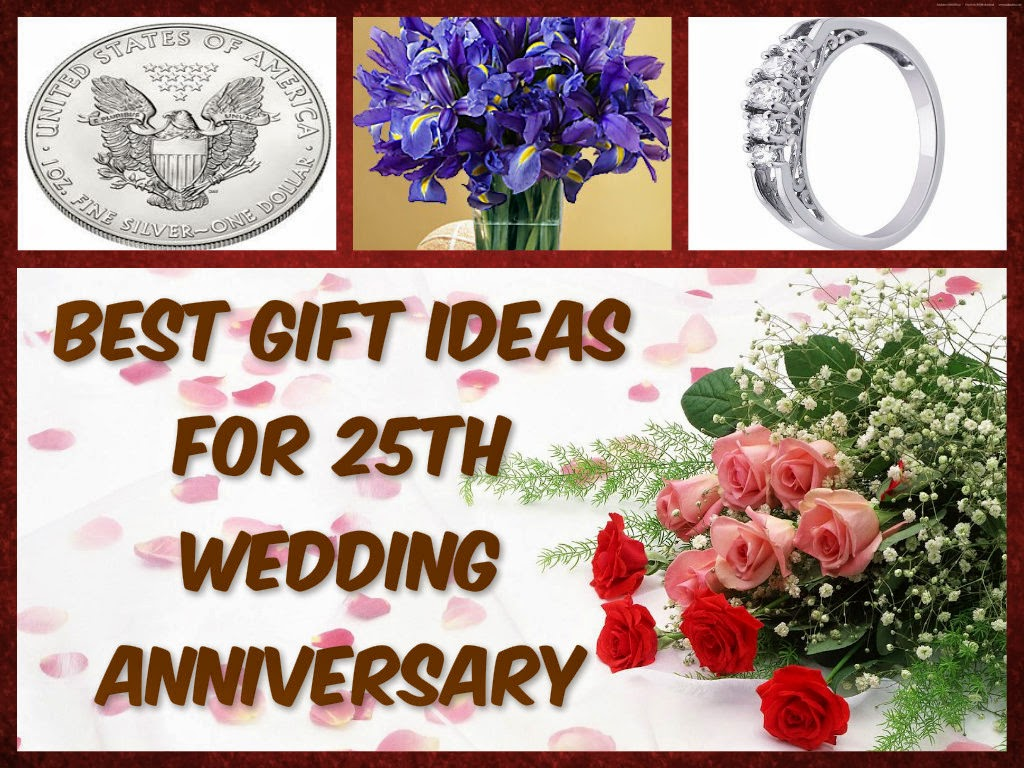 Best Gift Ideas For 25th Wedding Anniversary