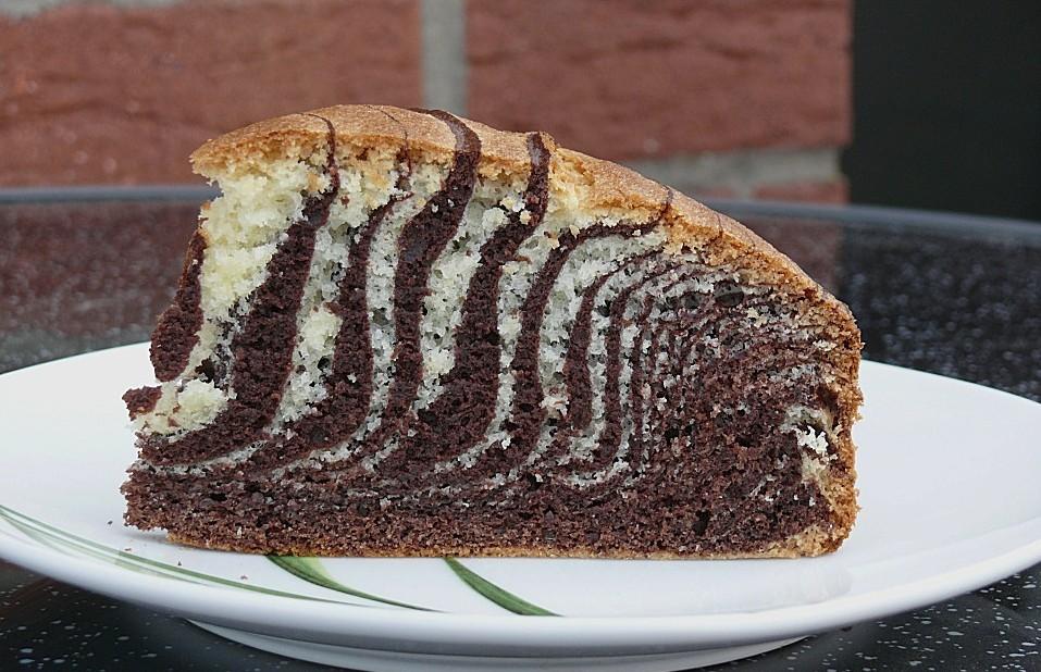 Backen Kochen Geniessen Zebra Kuchen