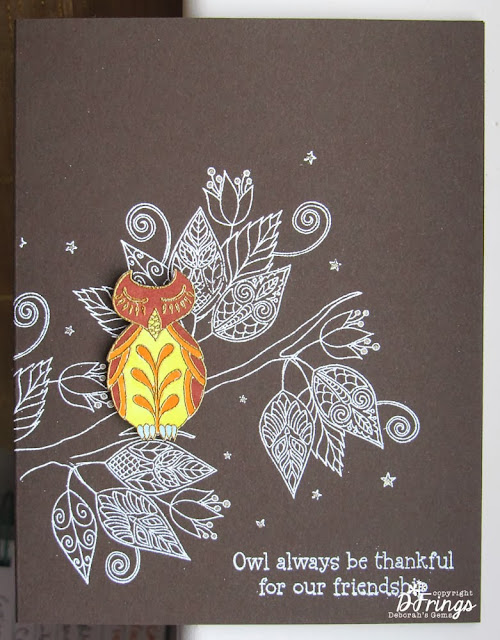 Owl Be Thankful - Photo by Deborah Frings - Deborah's Gems