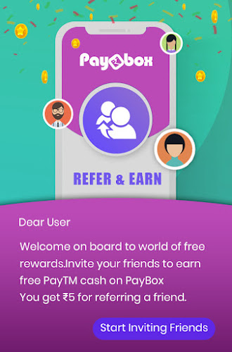 refer paybox and earn paytm