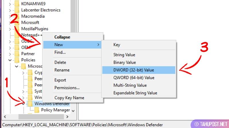 Cara Menonaktifkan Antivirus Windows Defender di Windows 10 Secara Permanen