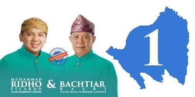 Data Real Sementara Ridho-Bachtiar Masih Unggul Di Lima Kabupaten, Termasuk Tanggamus