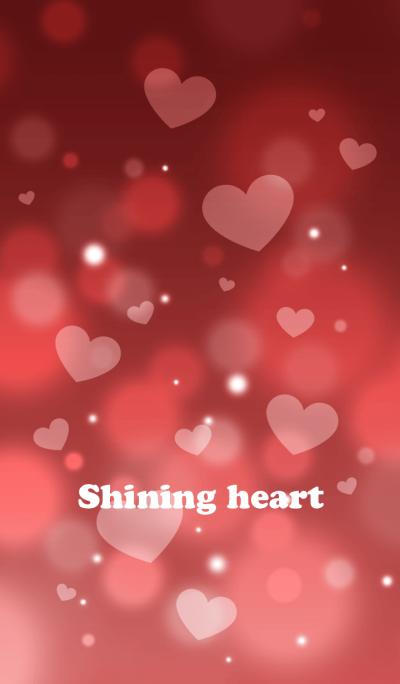 Shining heart(bordeaux)