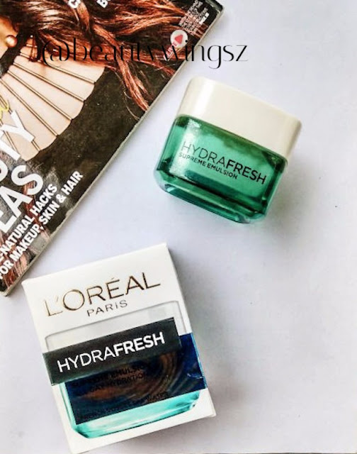 L'Oreal Paris Hydrafresh All Day Hydration Supreme Emulsion Review