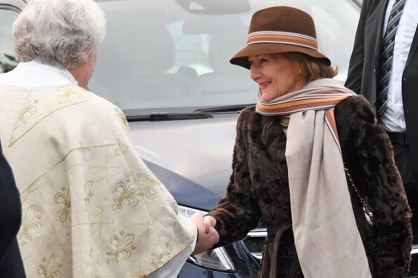 At the church service, the boyfriend of Princess Martha Louise, Durek Verrett (Shaman Durek) was also present