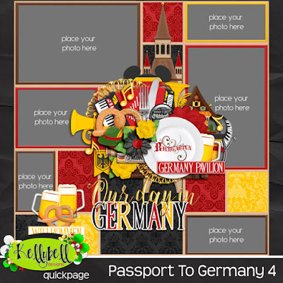 Passport To Germany by Kellybell Designs
