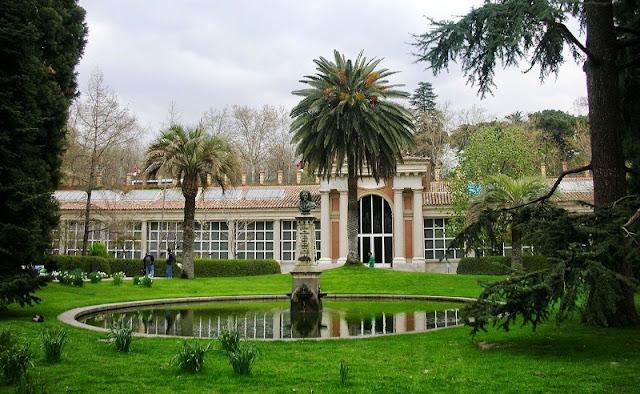 Real Jardim Botânico em Madri