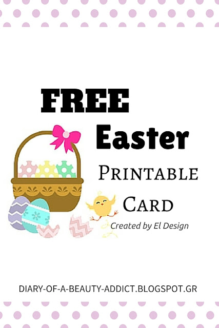 Free Easter Printable Card