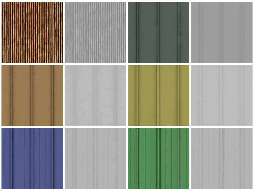 Metal roof texture  SKETCHUP TEXTURE: TEXTURE ROOFS