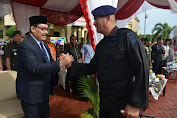 Kapolda Irup HUT Korps Brimob di Aceh