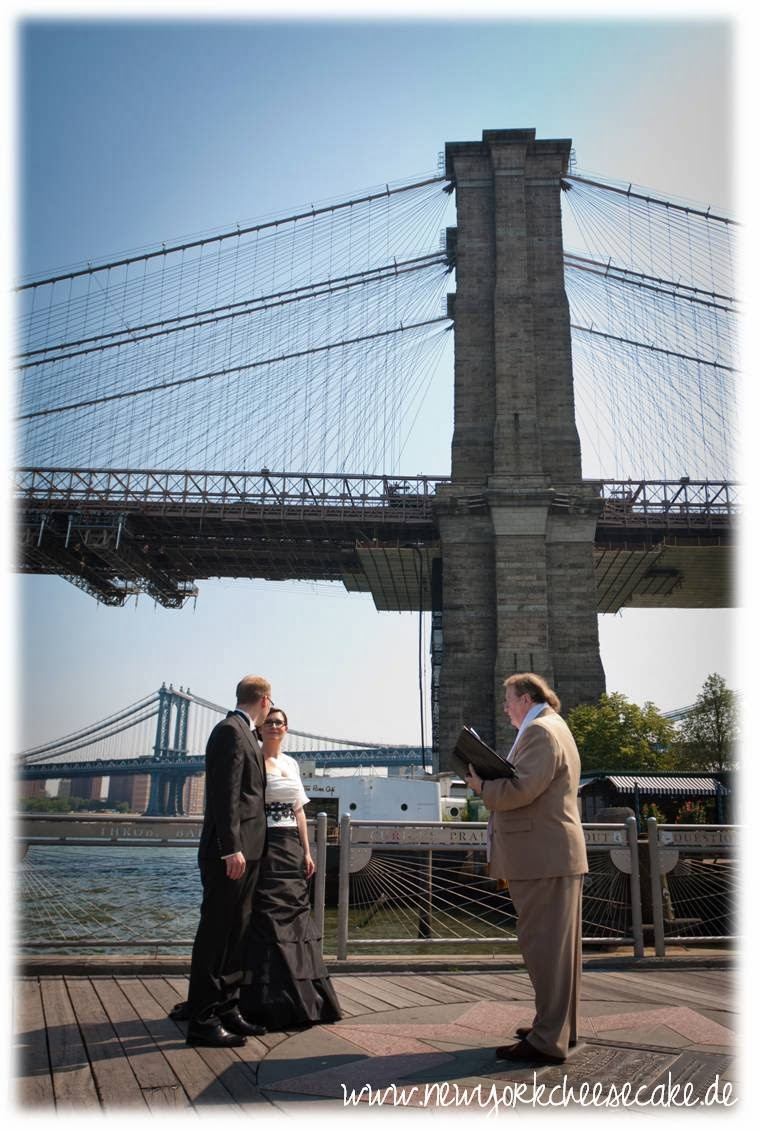 New York, heiraten, Hochzeit, Brooklyn Bridge