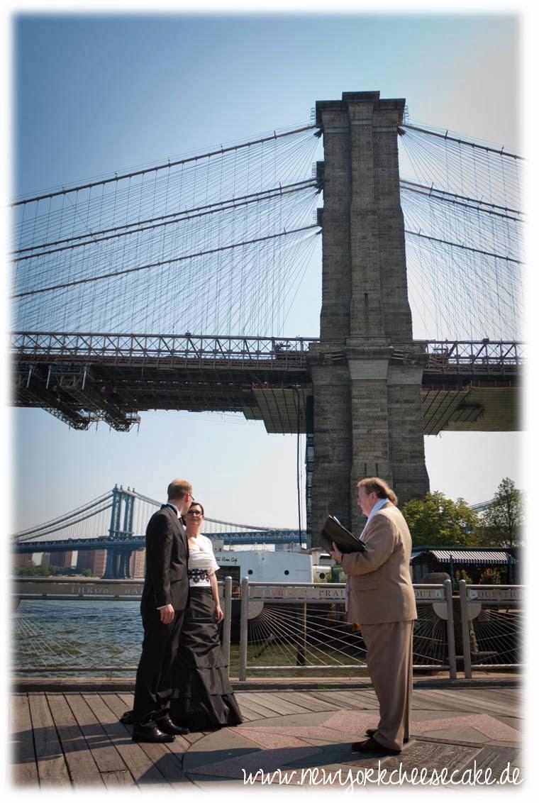 New York, heiraten, Hochzeit, Brooklyn Bridge