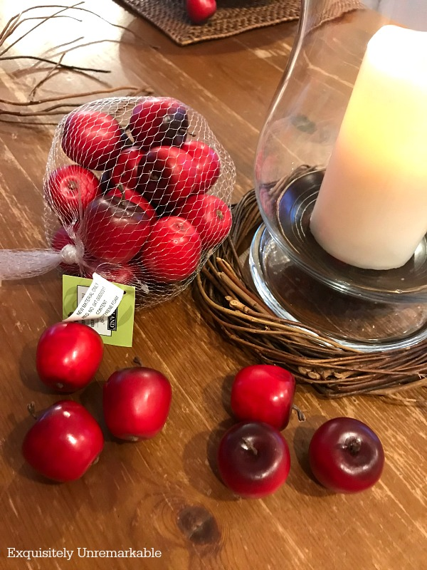 DIY Candle Ring Supplies