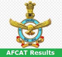 AFCAT Results