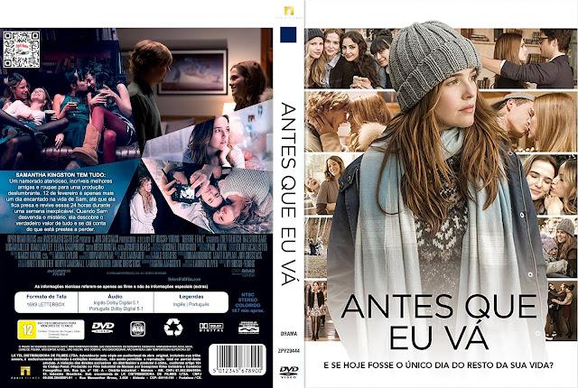Capa DVD Antes Que Eu Vá [Exclusiva]