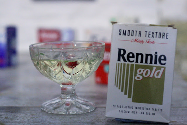 rennie medicine box vintage cocktail