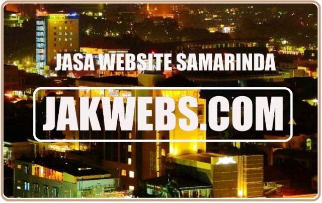 JASA PEMBUATAN WEBSITE SAMARINDA