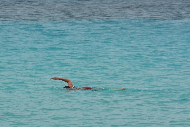 Playa Portomari Curacao swimming