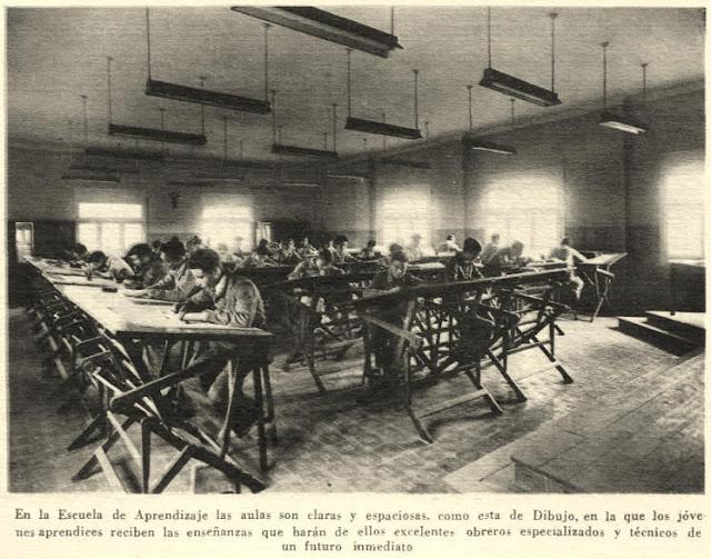 escuela aprendices maquinista terrestre maritima fabrica barcelonneta