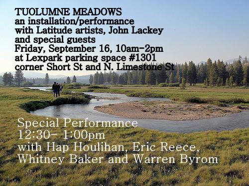 Latitude Artist Community: September 2010