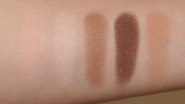 dior 5 couleurs eyeshadow palette 646 30 montaigne swatches review warm brown peach nude tones