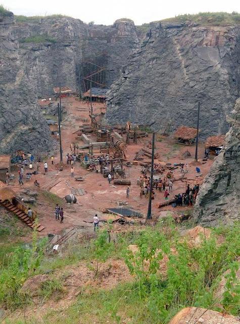 Baahubali 2 stills Leaked