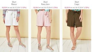 Shorts para mujer Smash