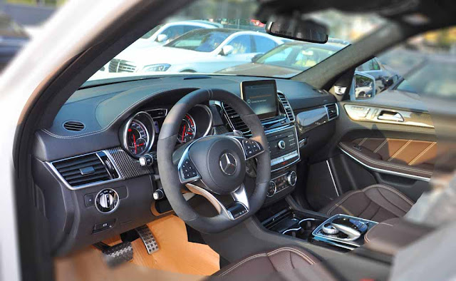 Nội thất Mercedes AMG GLS 63 4MATIC 2018 được thiết kế sang trọng và đẳng cấp