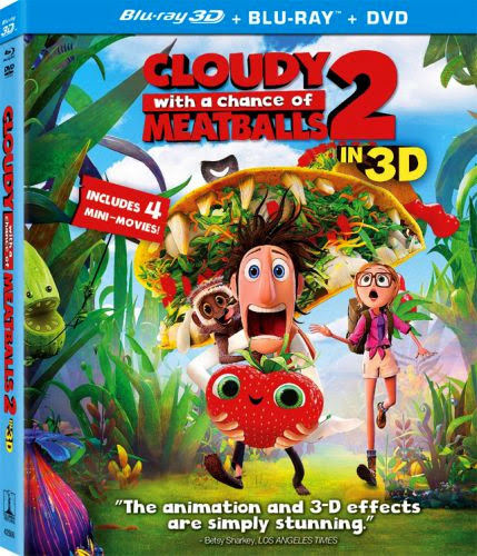 Cloudy With A Chance Of Meatballs 2 2013 Dual Audio 720p BRRip 950mb