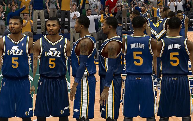 purchase cheap be817 62567 NBA 2K13 Utah Jazz Jersey Pack - NBA2K.ORG