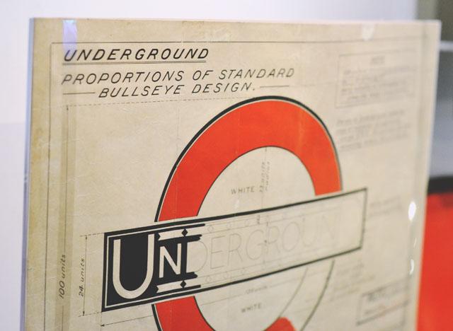 London underground logo design