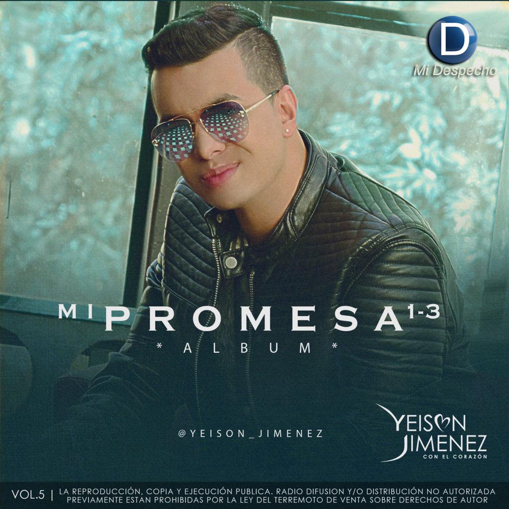 Yeison Jimenez Mi Promesa Interior Frontal