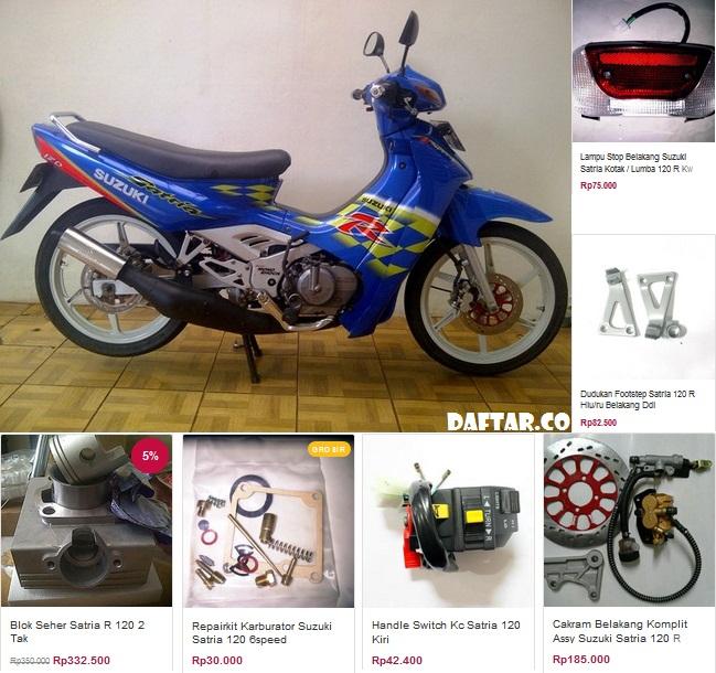 Daftar Harga Suzuki Genuine Parts