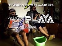 José M Duro, Don Fluor y Juan CM en Ballesta Club