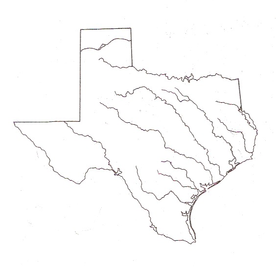 Map Of Texas Quiz.Ehms Texas History 9 Weeks Test Review