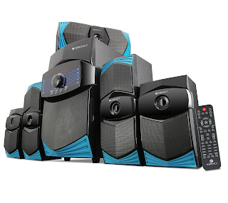 Zebronics unveils its surround sound ZEB-BT9551RUCF 5.1 speakers only at Rs. 6969/-