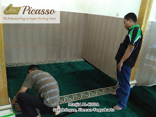Karpet Masjid Warna Hijau, Warna Kegemaran Rasulullah