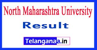 NMU Result 2017 North Maharashtra University Result