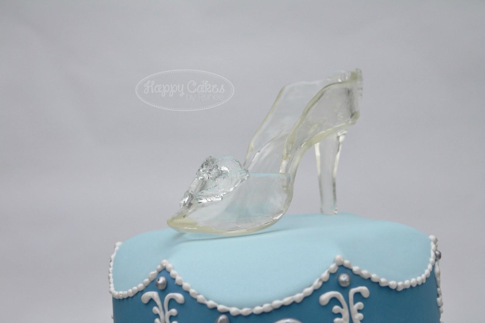Cinderella Shoe Birthday Cake