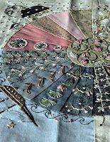 dresden plate crazy quilt