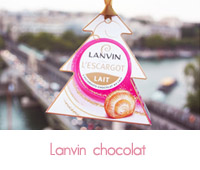 suspension sapin chocolat lanvin