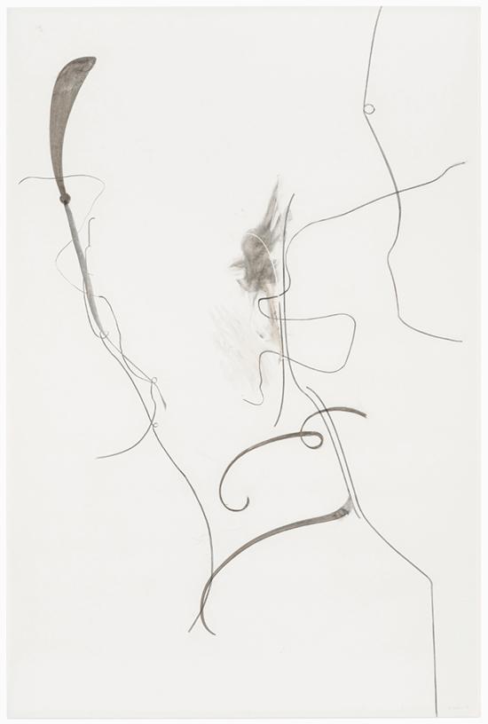 drawing Albert Oehlen Untitled, 2016