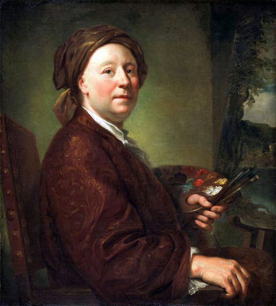RicRichard Wilson, Self Portrait, Portraits of Painters, Fine arts, Painter Richard Wilson