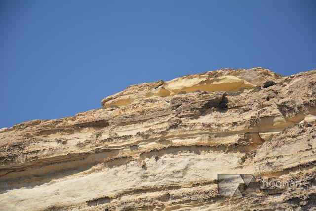 Skała Krokodyl obok Azure Window na wyspie Gozo na Malcie