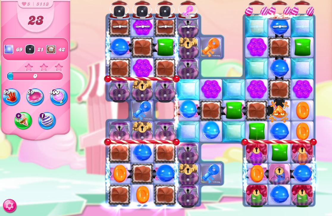 Candy Crush Saga level 5113
