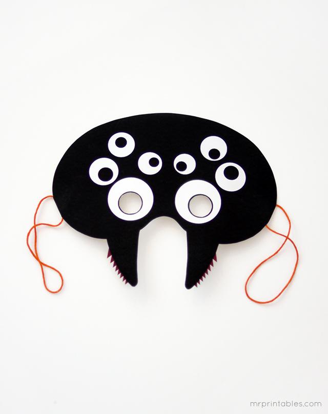 Bau Da Web Halloween Mascaras Coloridas Para Imprimir