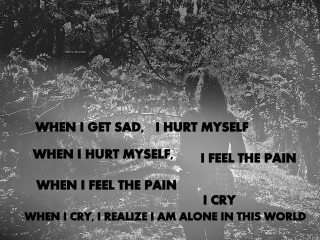 Quotes About Sad Pain: Alone Girl Sad Quotes